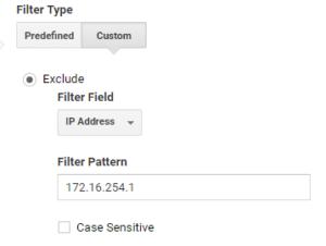 IP address in Google Analytics