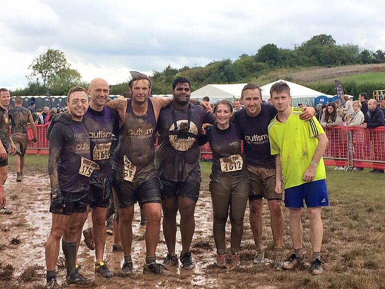 Superfast IT support team completes The Wolf Run