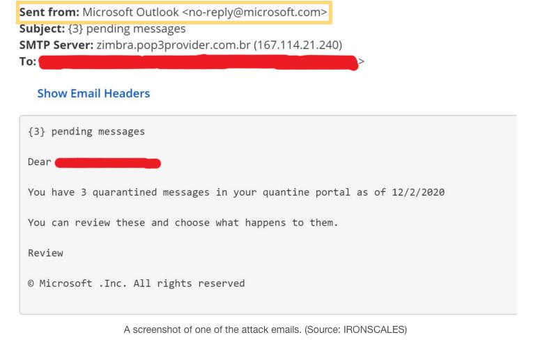 Microsoft spoof - exact domain