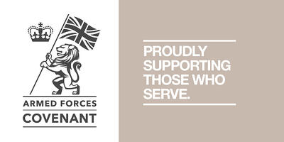 Supporting-Armed-Forces-Covenant Proudly supporting those that serve