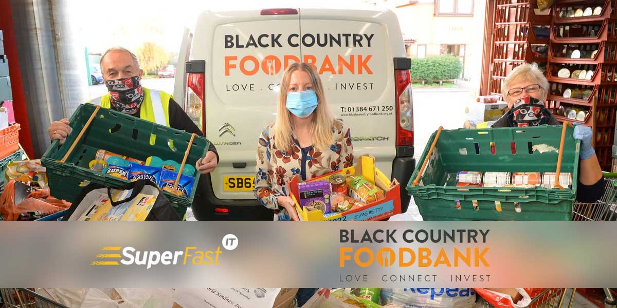 Helping Black Country Foodbank