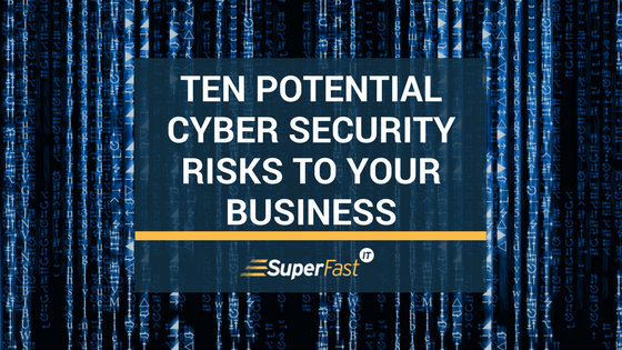 Top 10 business security risks