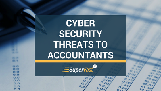 Cybersecurity threats to accountants