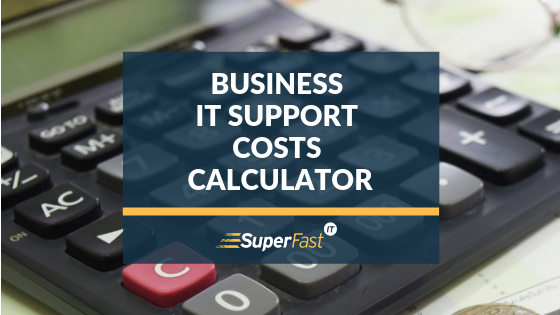 Business IT support costs calculator